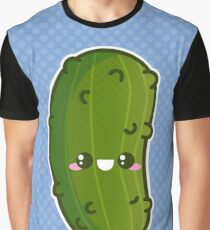 Kawaii Pickle Graphic T-Shirt