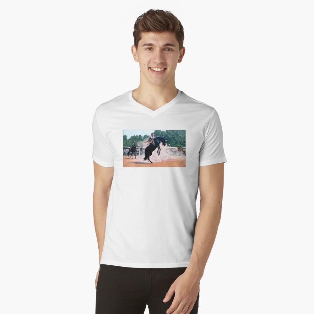 Whoa Nelly V-Neck T-Shirt