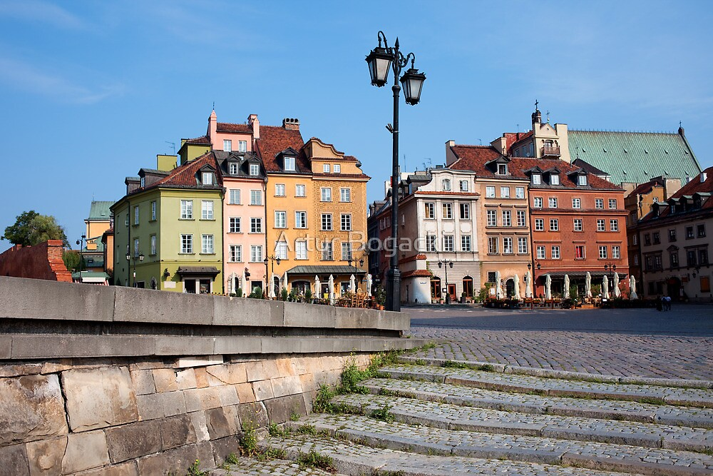 Old Town in Warsaw by Artur Bogacki