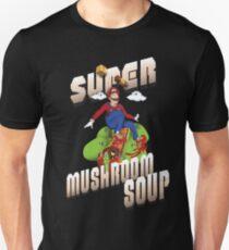 Super Mario Mushroom Soup T-shirt and Stickers Slim Fit T-Shirt