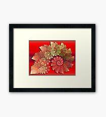 Decorative Swirls Framed Print