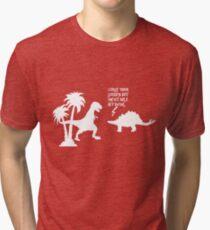 Firefly CURSE YOU white Tri-blend T-Shirt