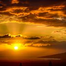 Maui Sunset  - 12/9/12 #1 by NealStudios
