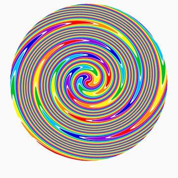 Hypnotic Rainbow by bobbydanger