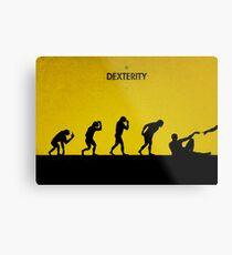99 Steps of Progress - Dexterity Metal Print