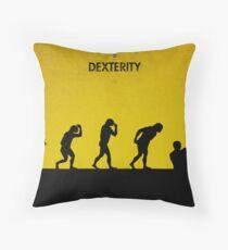 99 Steps of Progress - Dexterity Throw Pillow