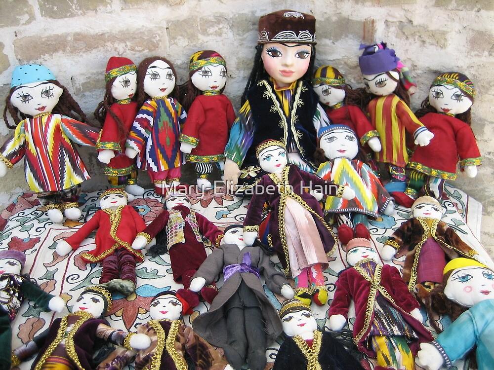 Traditional Uzbek Dolls for Sale by M-EK