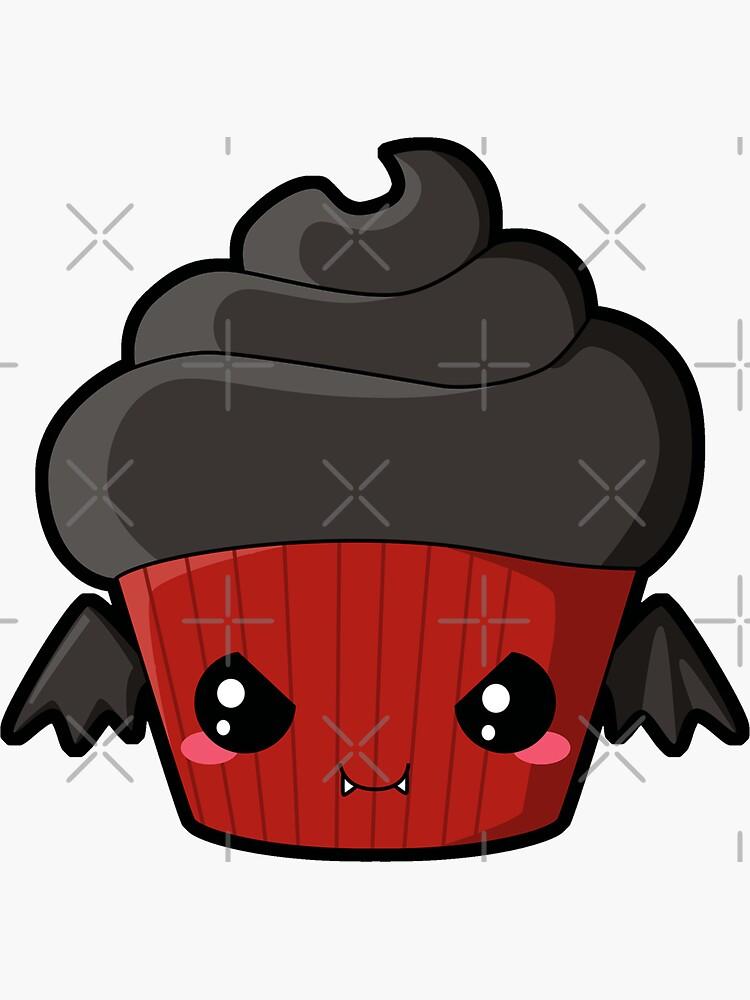 Spooky Cupcake - Vampire by pai-thagoras