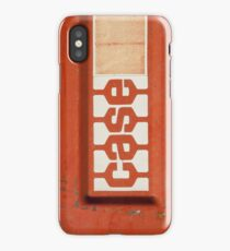 Red Case iPhone Case