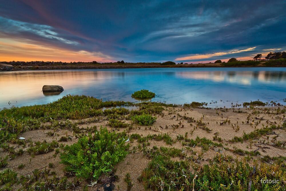 Tidal Lagoon at Sunrise by fotosic