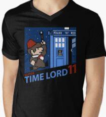 Super Time Lord 11 Mens V-Neck T-Shirt