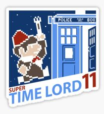 Super Time Lord 11 Sticker