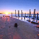 Port Willunga Sunset   (VG) by Ray Warren