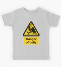 Danger of Deity Kids Clothes
