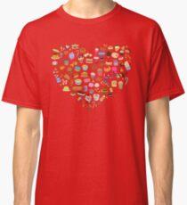 Cute Pixel Junk Food Classic T-Shirt