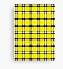 Seamless pattern tartan Canvas Print