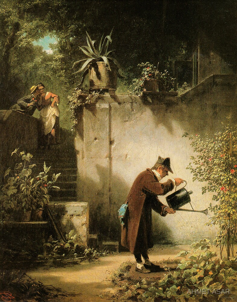 Carl Spitzweg Der Blumenfreund by MotionAge Media