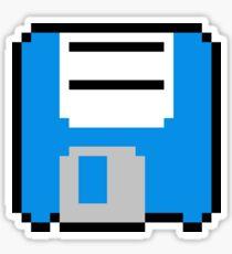 Floppy Disk - Blue Sticker