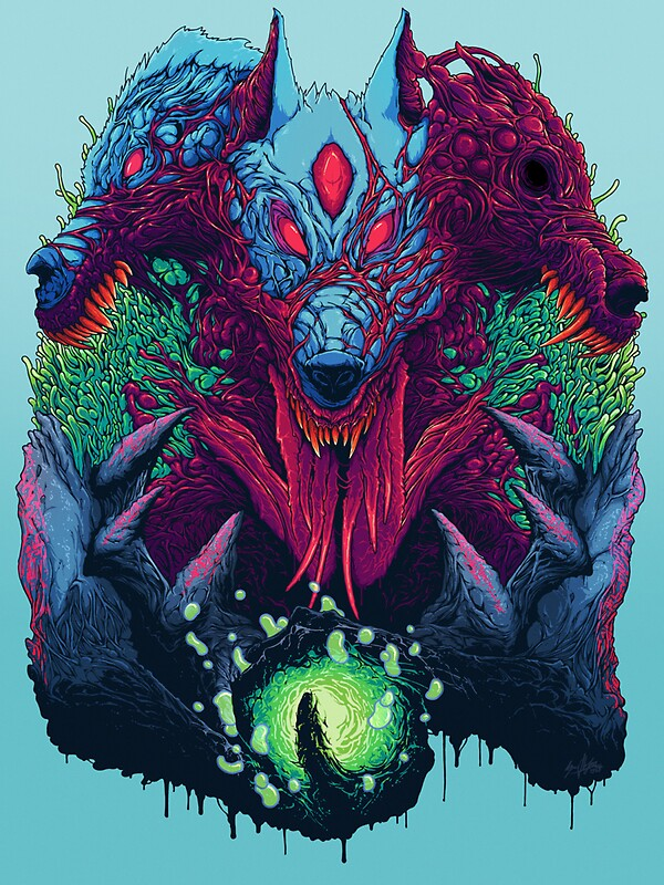 Hyper beast quot stickers by clothing4u redbubble