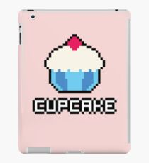 8-Bit Cupcake [Blue] iPad Case/Skin