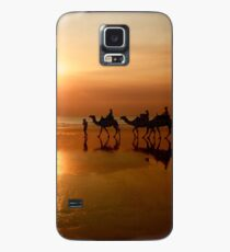 Camels at Sunset Case/Skin for Samsung Galaxy