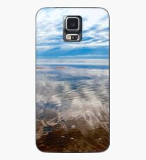 Cloud reflections at low tide Case/Skin for Samsung Galaxy
