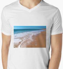 Pristine ocean at Cape Leveque Men's V-Neck T-Shirt