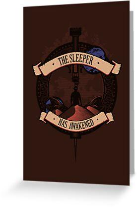 The Sleeper by DeardenDesign