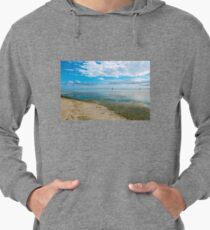 Peaceful anchorage at Tangalooma  Lightweight Hoodie