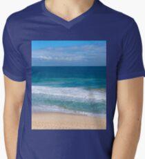 Indian Ocean at Scarborough Beach Men's V-Neck T-Shirt