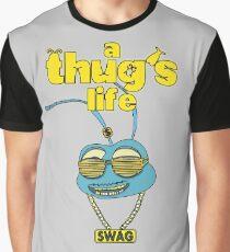 A Thug's Life Graphic T-Shirt