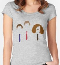 Workaholics - Adam, Anders, and Blake Women's Fitted Scoop T-Shirt