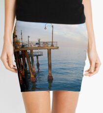 Sunrise at Santa Monica Pier Mini Skirt