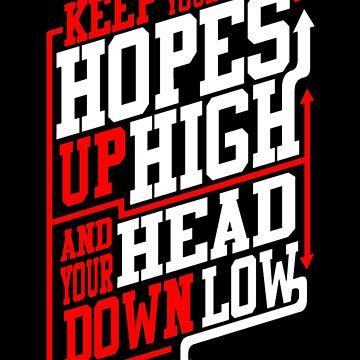 Hopes Up High Sticker by BryanPerez86