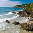 Secluded beach at Byron Bay by Extraordinary Light