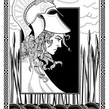 Athena by Iainmaynard