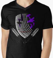 Darker Mask (extended) Mens V-Neck T-Shirt