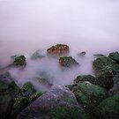 Misty Rocks by EdwardKay