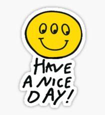 louis tomlinson smiley face shirt Sticker