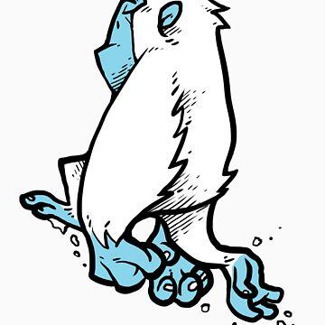Yeti frolick by Bakword