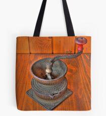 Iron grinder  Tote Bag