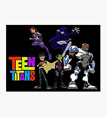 Titans Go!  Photographic Print