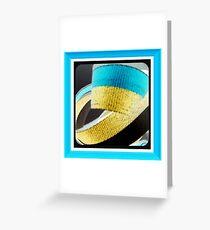 ribbons Greeting Card