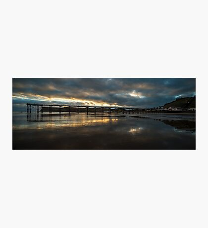 Saltburn Sunrise Photographic Print