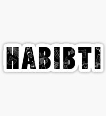 Habibti Sticker