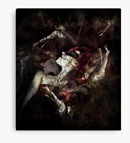 All Dolls Get Broken Canvas Print