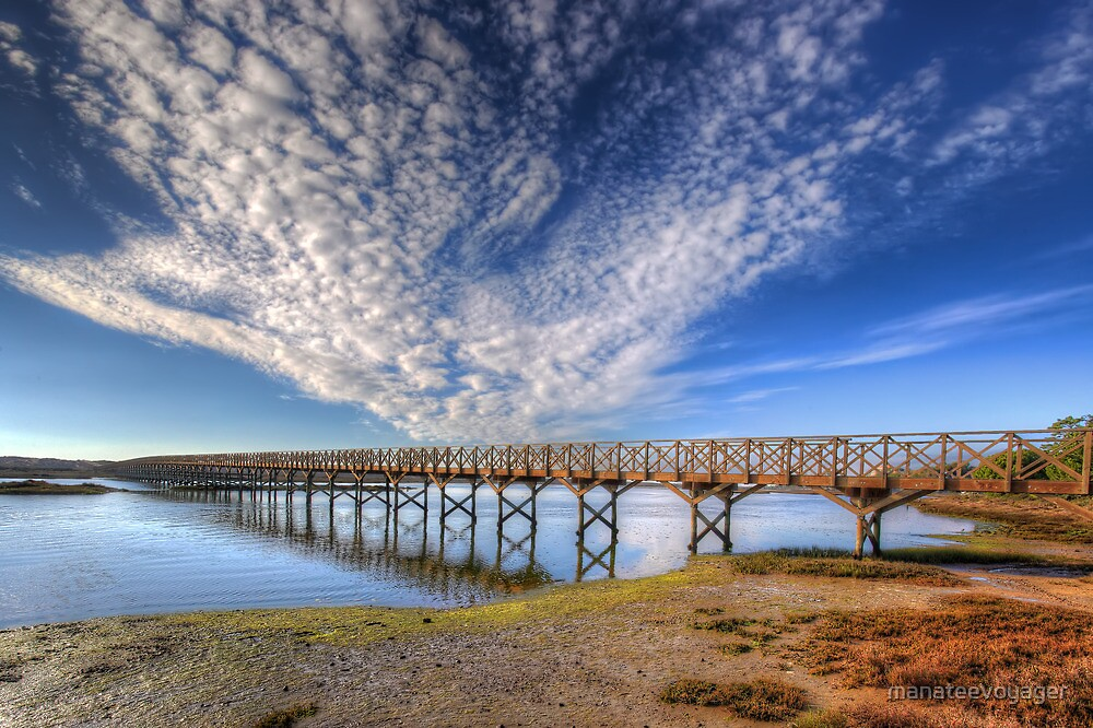 Quinta do Lago The Wooden Bridge by manateevoyager