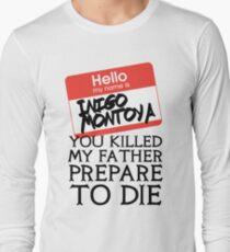 Inigo's Name Tag Long Sleeve T-Shirt