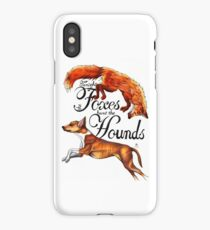 Tonight The Foxes Hunt The Hounds iPhone Case