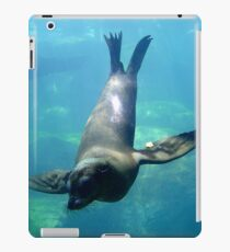 Sea Lion Diving iPad Case/Skin